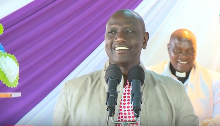 Ruto's advice on addressing wives leaves the audience in stitches