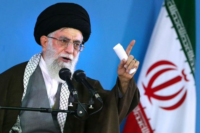 Ayatollah Ali Khamenei   Qasem Soleimani