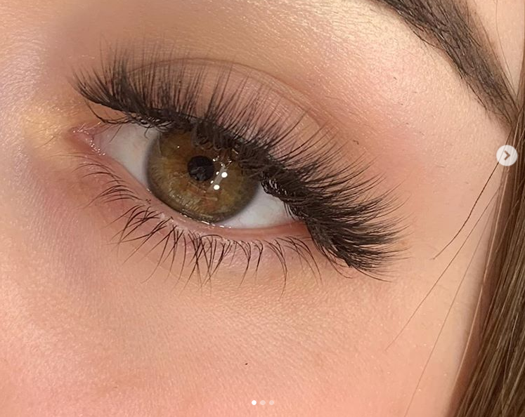 Synthetic eyelash extensions