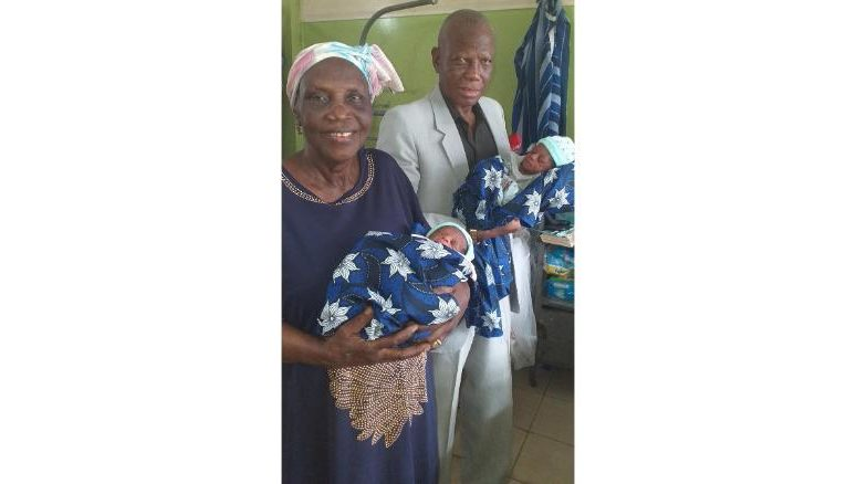 Woman gives birth to twins at 68 years of age